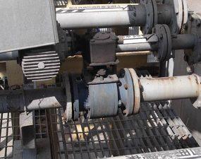 Ceramic valve for Flue Gas Desulfurization