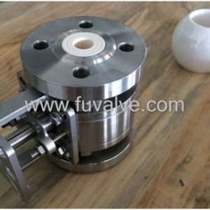 floating type Ceramic Ball Valve
