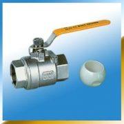 2-pcs Ceramic Ball valve(Threaded end)