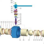 ceramic ball valve(full-lined)