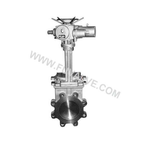 Electric Actuated Knife Gate Valve (2)