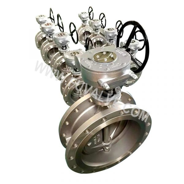 Triple Eccentric butterfly valve (9)
