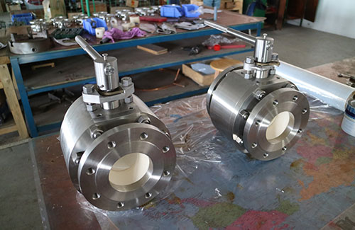 half lined ceramic ball valve 12