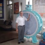 DN1600 FEP Lined Butterfly Valve