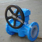 Fluorine lined plug valve (2)_2