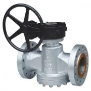 Pressure balabce lubricated Plug valve
