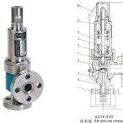 Spring Enlight closed safety valve