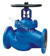 DIN Bellow sealed globe valve