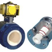 Ceramic valve for Powder Pneumatic Conveying