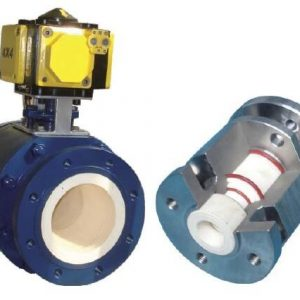 Ceramic valve for Powder Pneumatic Conveying
