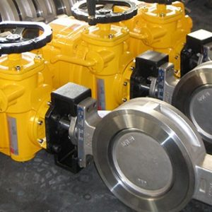 Wafer Type Ceramic Butterfly Valves