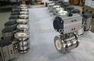 Ceramic ball valves applied to Pulverized coal injection system