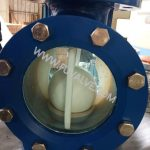 High quality Sight-Glass PFA lined Ball Check Valve