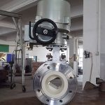 V port ceramic ball valve