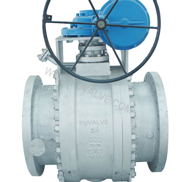 Bellow seal anti-coking wear-resistant ball valve