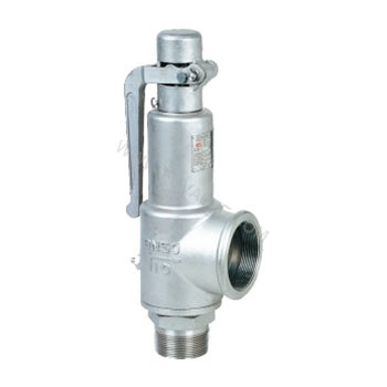 Spring full bore type with lever safety valve (2)