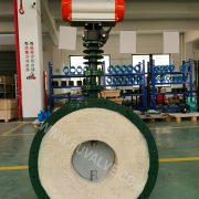 Ultra-high temperature Butterfly Valve