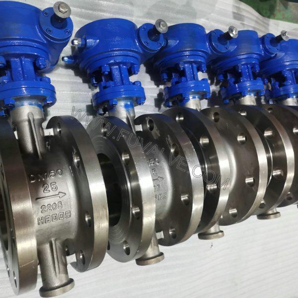 Duplex stainless 2205 steel butterfly valve (1)