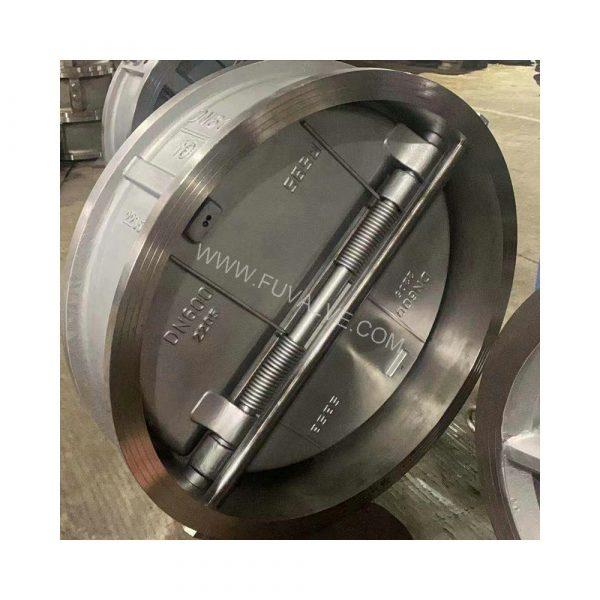 Duplex stainless 2205 steel butterfly valve (2)